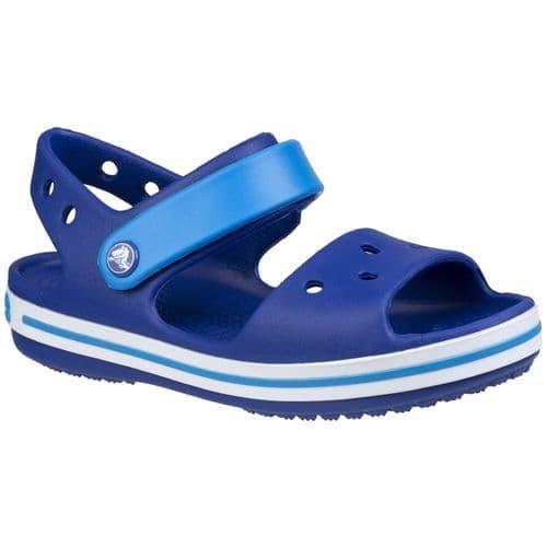 Crocs Crocband Childrens Beach Dark Blue/Light Blue/White